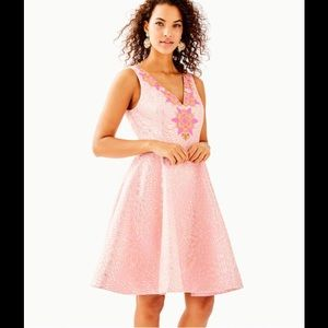 NWT $328 Lilly Pulitzer Elaine Shift Dress Sz00